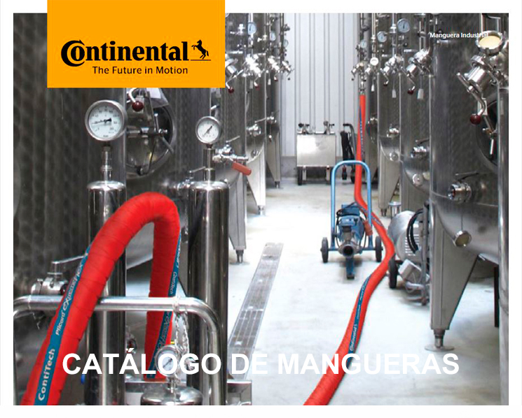 Continental mangueras industriales isama