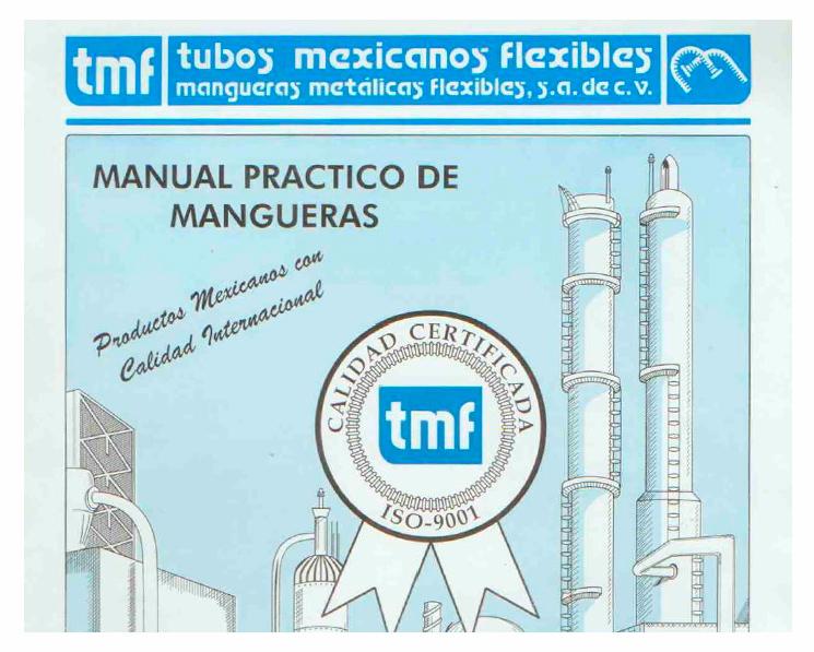 TMF isama conexiones y mangueras